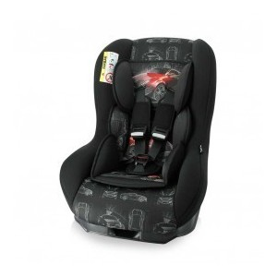CAR SEAT BETA PLUS BLACK&RED CAR