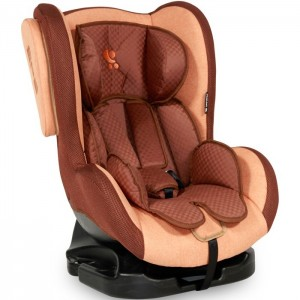 CAR SEAT TOMMY +SPS BEIGE&BROWN