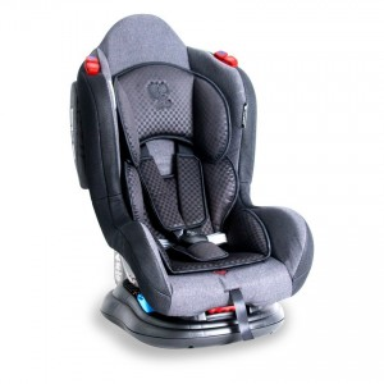 CAR SEAT JUNIOR+SPS BLACK