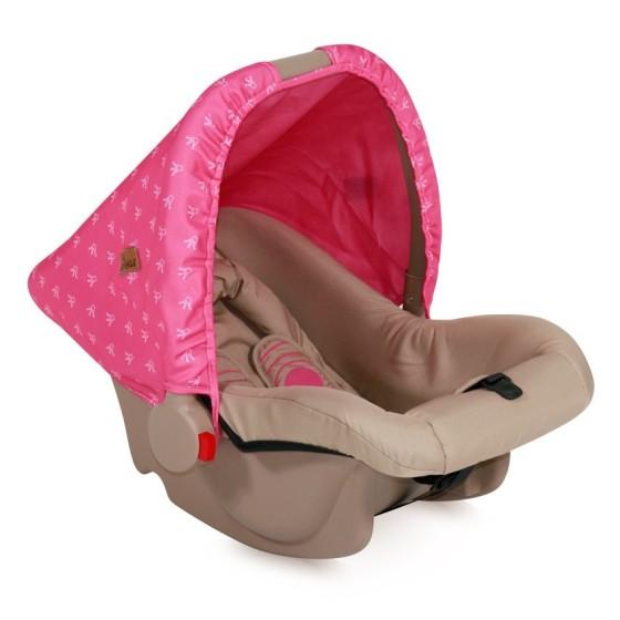 Καθισμα αυτοκινήτου BODYGUARD BEIGE&ROSE PRINCESS