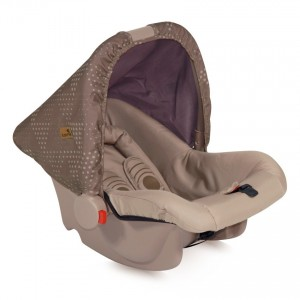 Car Seat BODYGUARD BEIGE STAR