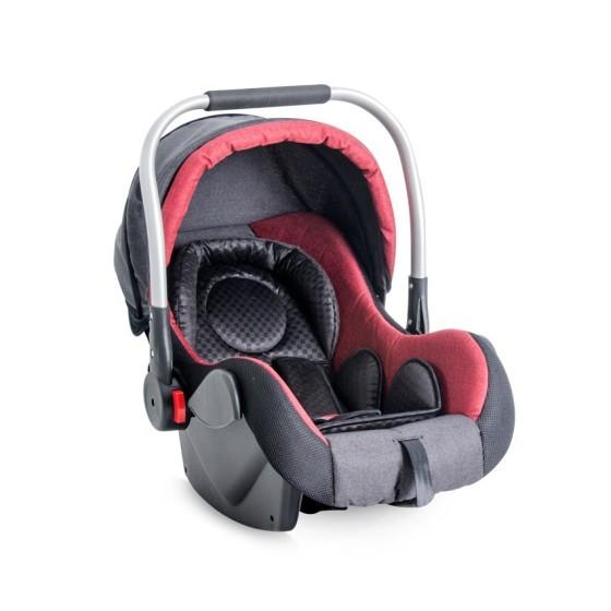 Κάθισμα Αυτοκινήτου με ποδόσακο  DEL TA  Black& Red