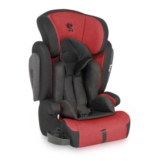 CAR SEAT  OMEGA+SPS RED&BLACK