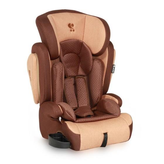 CAR SEAT  OMEGA+SPS BEIGE&BROWN