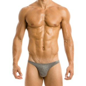MOHAIR LOW CUT BRIEF 03711_grey