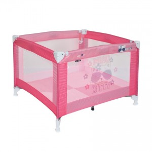 Baby Cot PLAY Pink Kitty