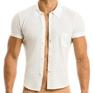 MOHAIR SHIRT OFF WHITE