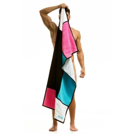 Πετσέτα θαλάσσης - Spa MONDRIAN neon