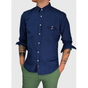 Man denim shirt slim fit