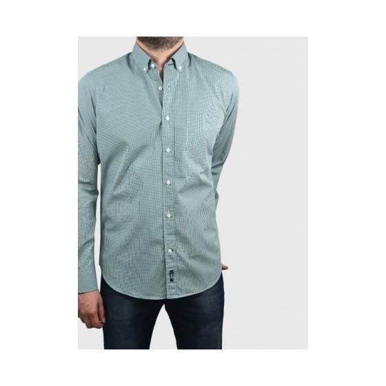 Ανδρικό πουκάμισο μικρό καρό 2 χρώματα