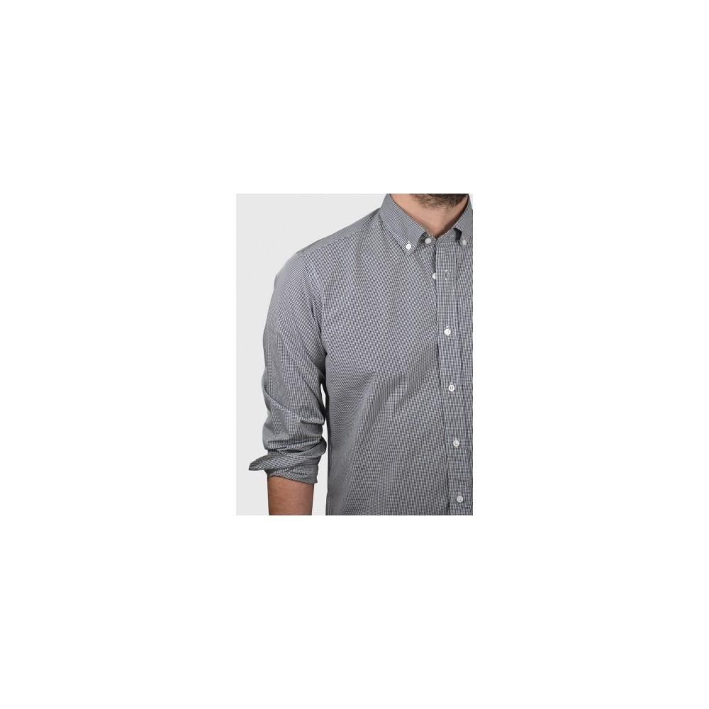 d33e79945997 Ανδρικό πουκάμισο μικρό καρό 2 χρώματα