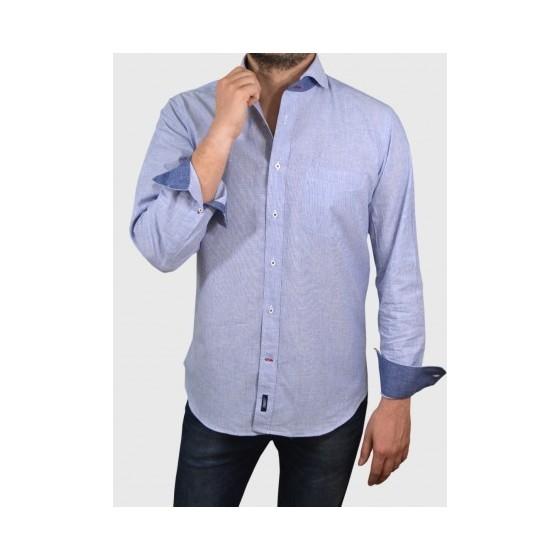 Mens Cotton linen shirt in 2 colours