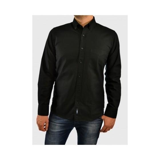 Mens casual shirt black