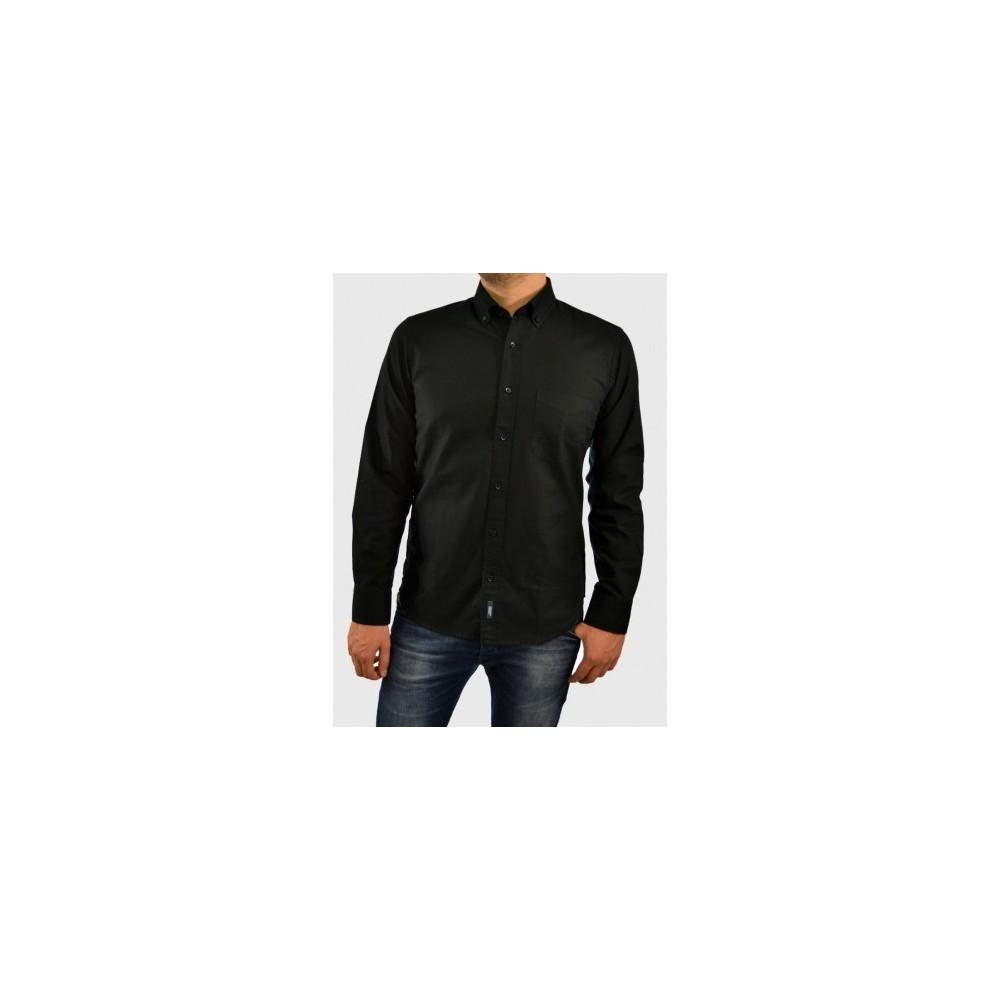 Ανδρικό πουκάμισο casual Μαυρο