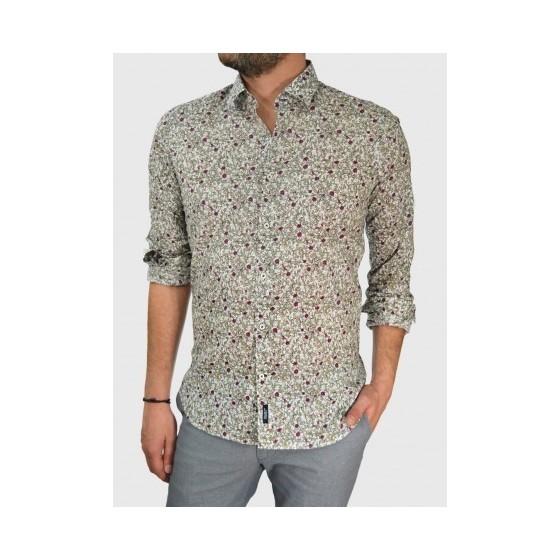 Mens floral shirt slim fit