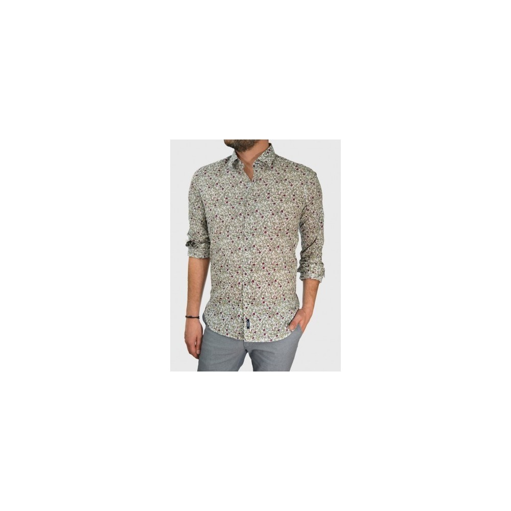 Mens floral shirt slim fit