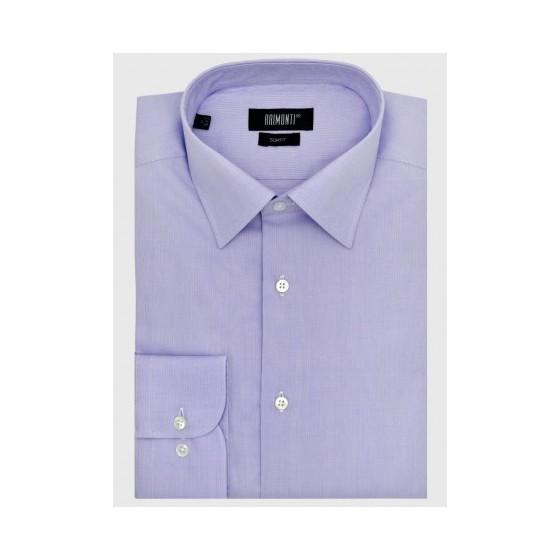 Ανδρικό μονόχρωμο πουκάμισο slim fit