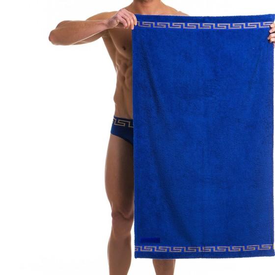 Ανδρική πετσέτα μπάνιου Μπλέ