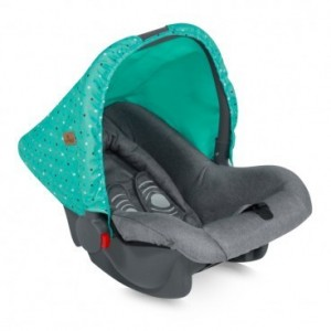 Car Seat BODYGUARD GREEN&GREY FRIENDS