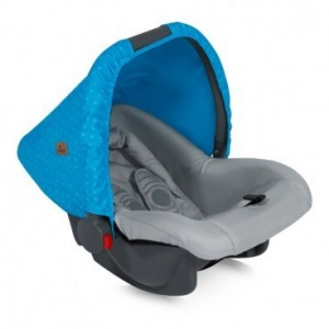 Car Seat BODYGUARD BLUE&GREY HELLO BEAR