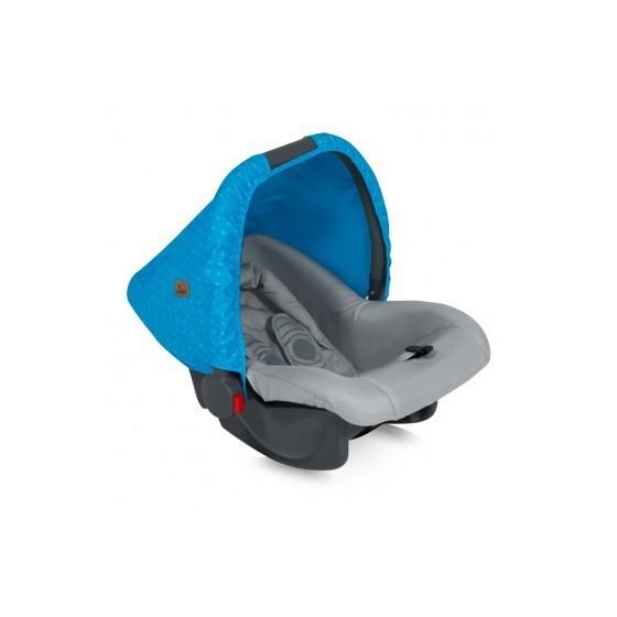Car Seat BODYGUARD BLUE&GREY HELLO BEAR