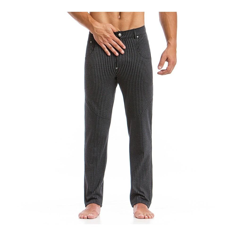 Ανδρικό παντελόνι ριγέ