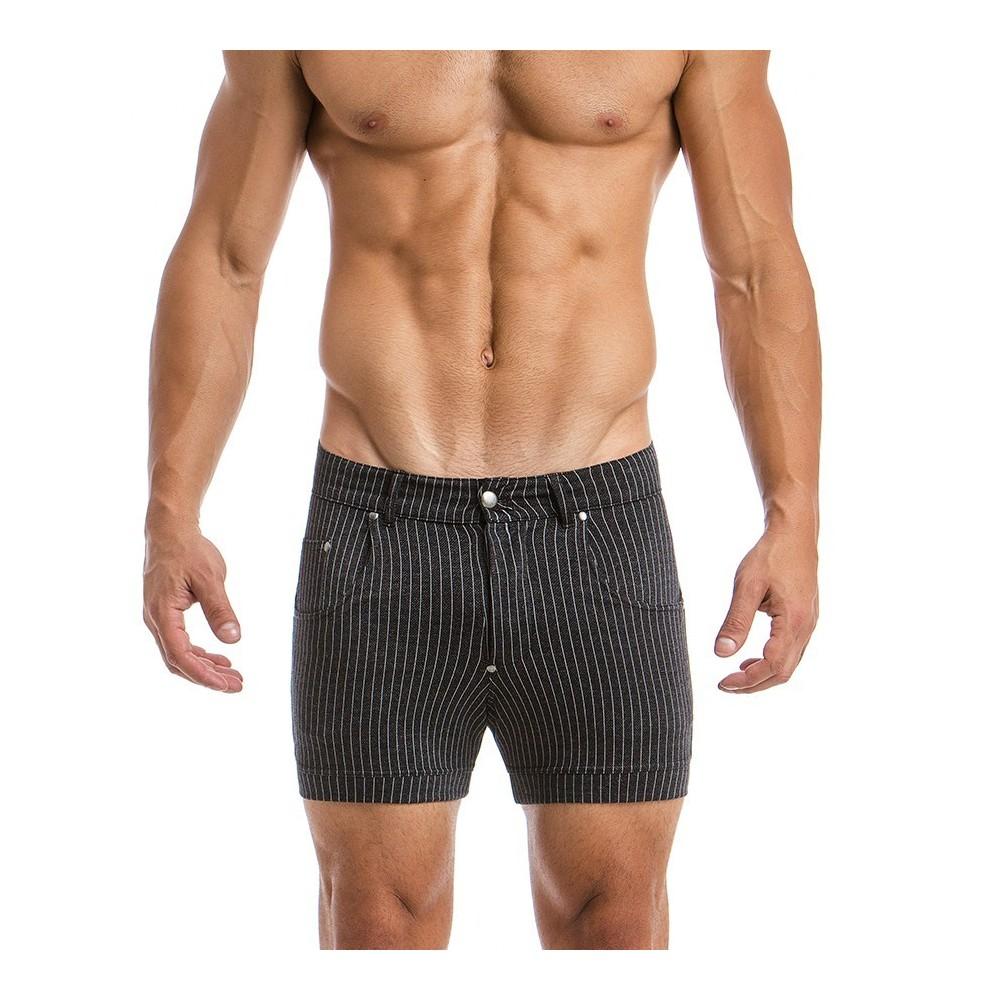 MEN'S SHORT striped