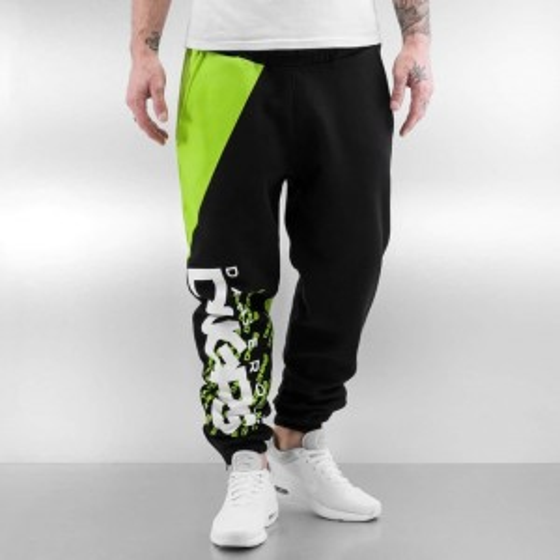 Ανδρικό Παντελόνι Φόρμας Μαύρο / Πράσινο