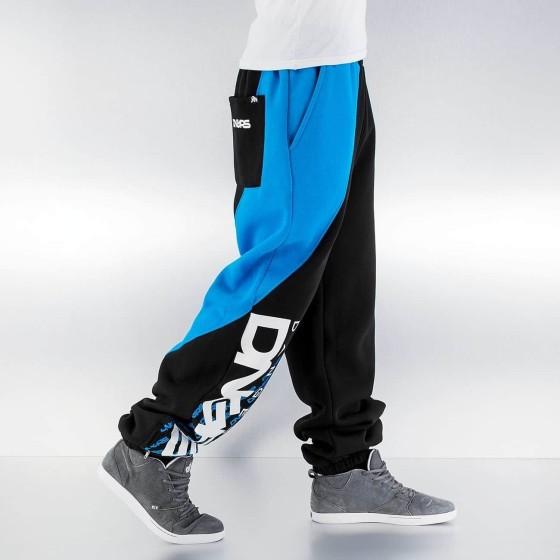 Ανδρικό Παντελόνι Φόρμας Μαύρο / Μπλέ