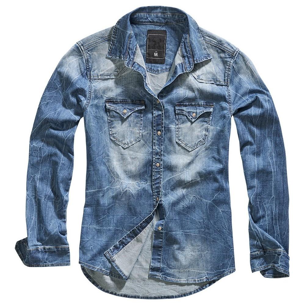 Ανδρικό πουκάμισο Denim