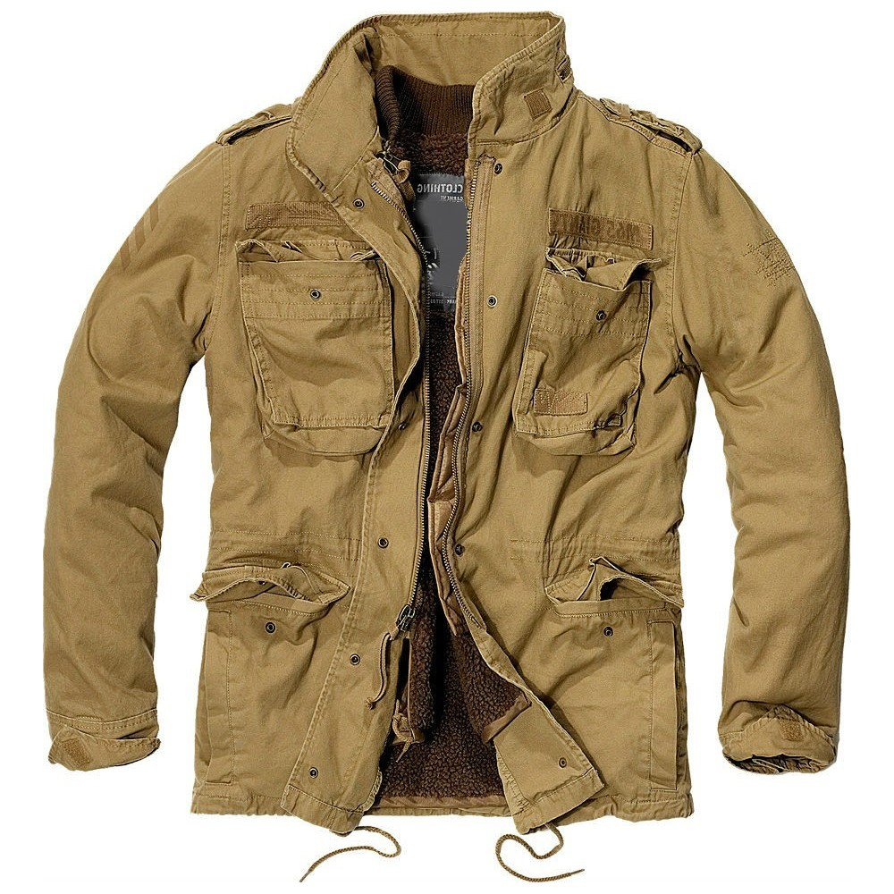 Men's M-65 Giant Jacket - Camel