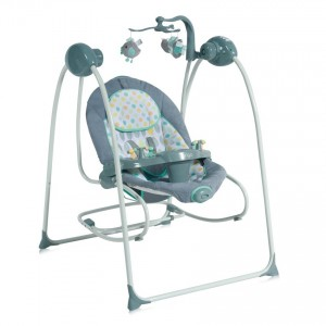 Electric Swing TANGO *Option as a Baby Rocker Grey