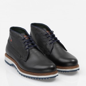Men's Shoes Leather Black