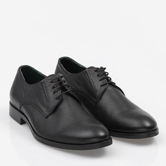 Ανδρικό παπούτσι δετό Μαύρο