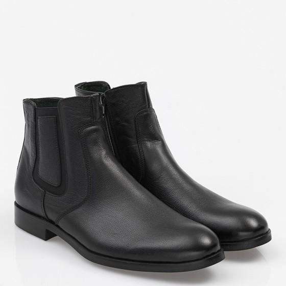 Men's Shoes Leather Black
