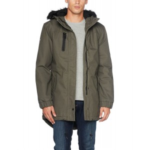 Jacket Vest Military Man Rankin Cross parka