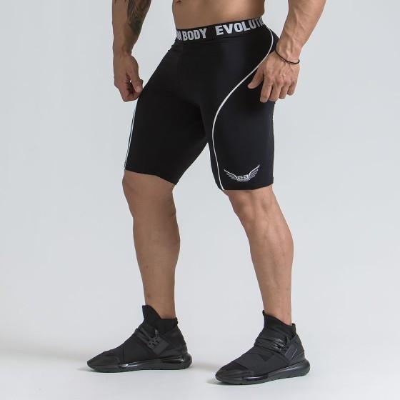 Mens sleeveless Shorts Black