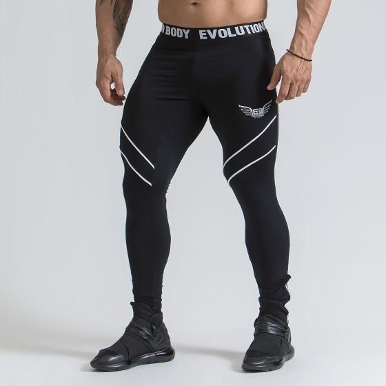 Ανδρικό αθλητικό κολάν - Μαύρο