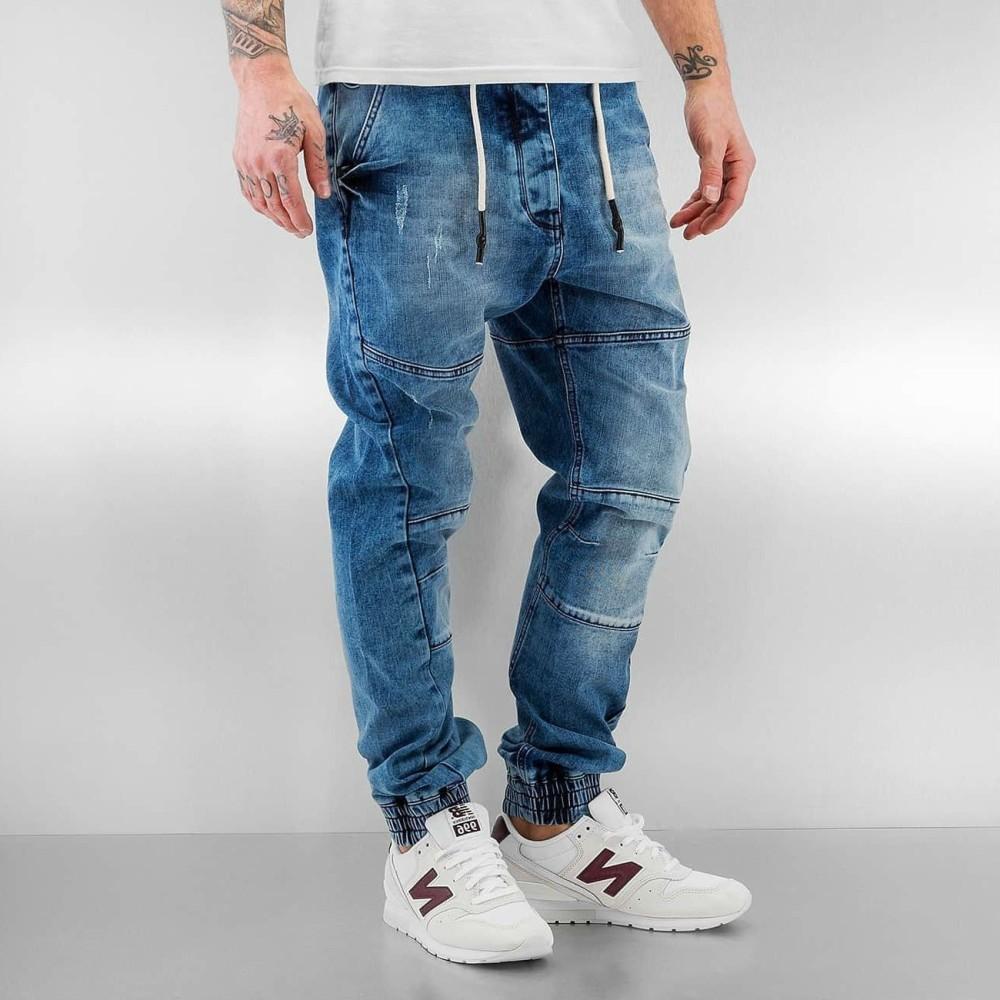 Ανδρικό Jeans Παντελόνι ANTIFIT BLUE