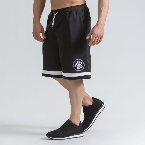 Men's active shorts - Black