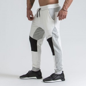 SPACE BALANCE LINE SWEATPANTS BLACK