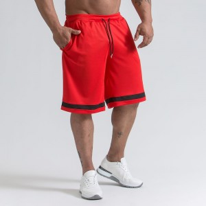 Men's active shorts - RED