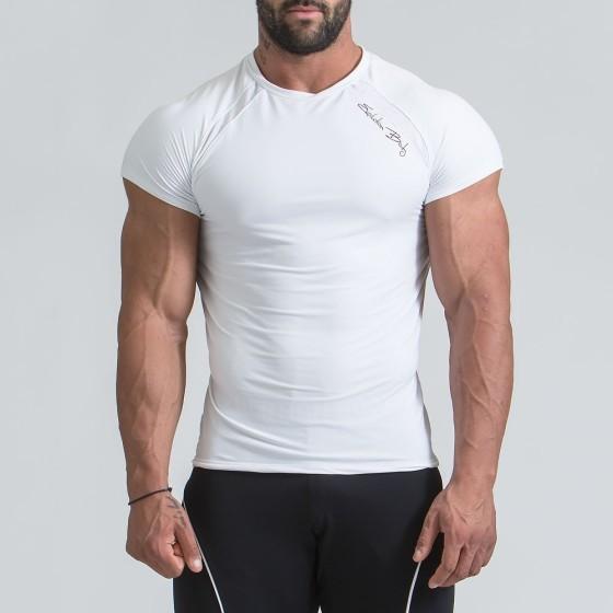MEN'S ACTIVE DRI-FIT Τ-SHIRT- WHITE
