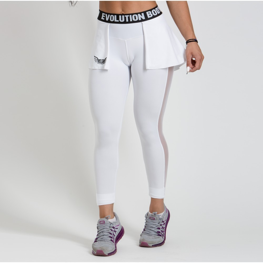 WOMEN'S DRI-FIT TRAINING TIGHTS ACTIVE - WHITE
