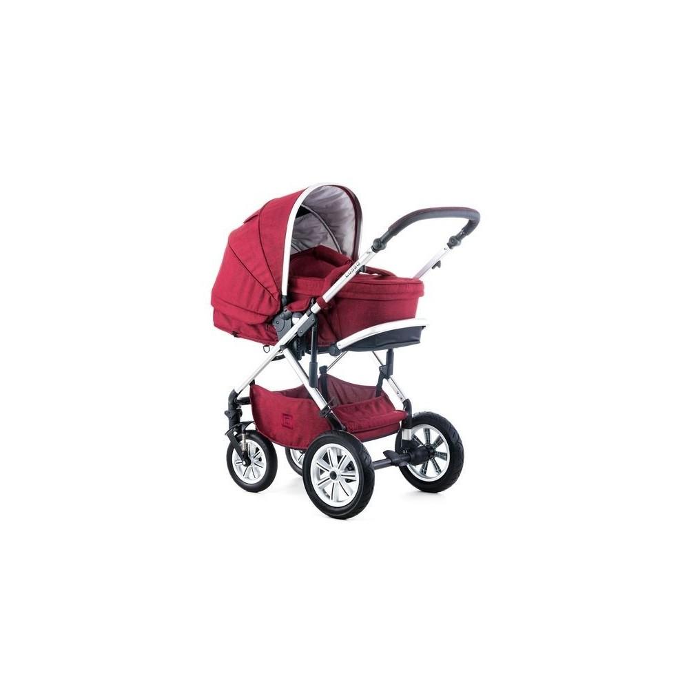 Baby stroller LUSSO2 RUBIN.RED MELANGE
