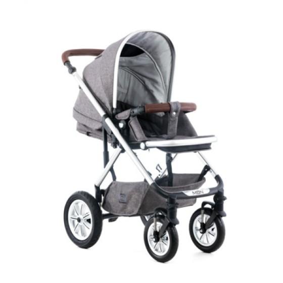 Baby stroller LUSSO2 STONE MELANGΕ 2 in 1