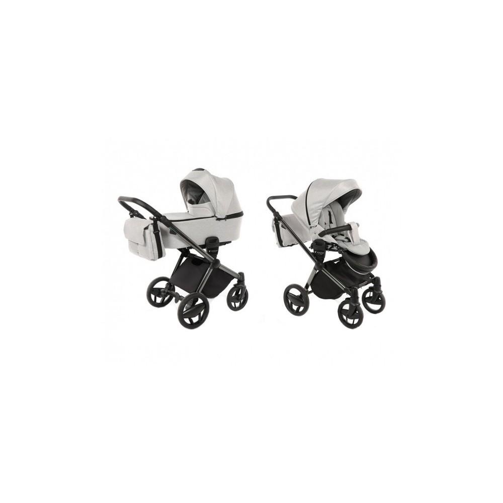 Baby stroller Invictus V-Plus 2 in 1 Light Grey