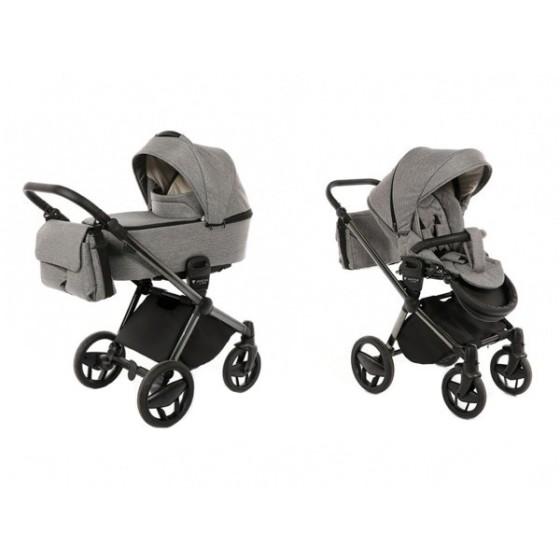 Baby stroller 3 in 1 Invictus V-Plus Graphit