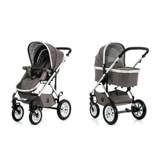 Baby stroller NUOVA CITY3  2 in 1 STONE MELANGE