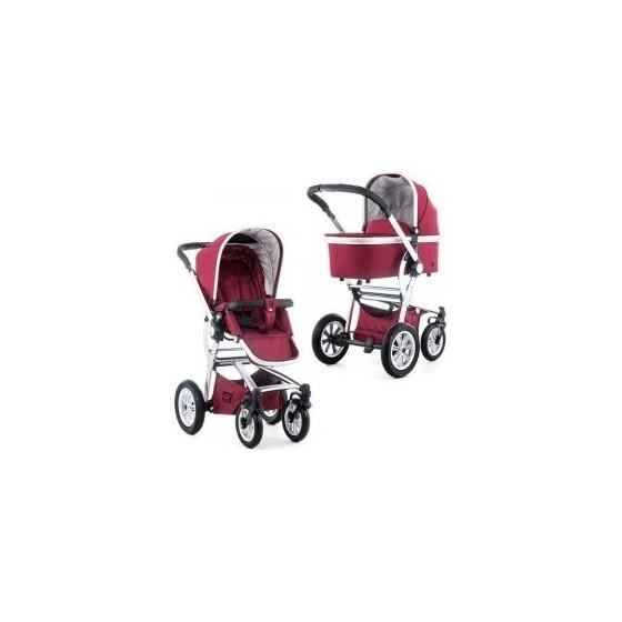 Παιδικό πολυκαρότσι TREGG 2 in 1 RED DENIM - Just Baby